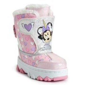 Disney Minnie Mouse Toddler Girl Boots